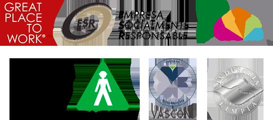 Certificaciones Grupo Vasconia